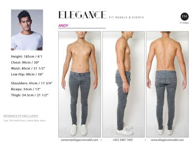 Andy - Fitting Model