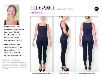 Camille US 8 - Fitting Model